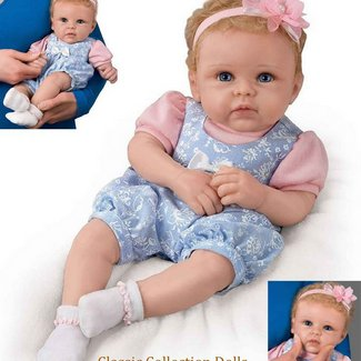 Little Livie So Truly Real Silicone® Baby Doll from Ashton Drake a390f92e7